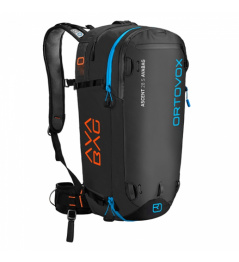 Backpack Ortovox Ascent 28 S black Avabag KIT