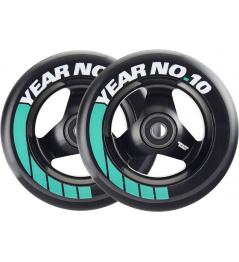 Wheels Tilt Ten Year 110mm black 2pcs
