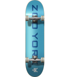 "Zoo York Skateboard OG 95 Logo Block 8 ""Blue / White"