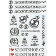 Scootshop.cz A4 stickers