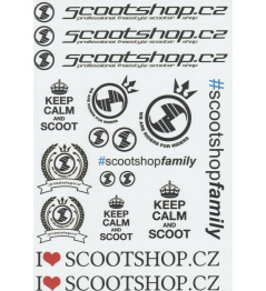 Scootshop.cz A4 stickers