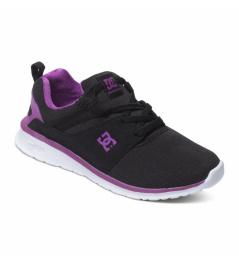 Dc Shoes Heatrow black / purple 2016 kids vell.25,3cm