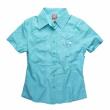 HF Shirt Rodeo S / S aqua W. vell.S