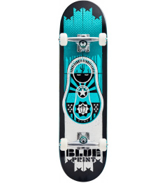 "Blueprint Skateboard Babushka V2 8.25 ""Teal"