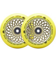 Root Lotus wheels 110x24mm Radiant Yellow 2pcs