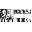 Gift voucher worth CZK 1000