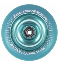 Metal Core Radical Fluorescent 110 mm blue wheel