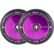 Wheels Root Industries Air Black 110mm 2pcs purple