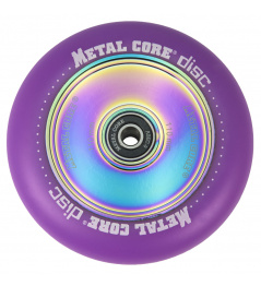 Metal Core Disc 110 mm circle purple