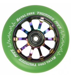 Metal Core Thunder Rainbow 110 mm green wheel