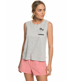 Roxy Feel So Right Tank Top 491 sgrh heritage heather 2019 Ladies vell.L