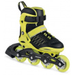 Children's roller skates Powerslide Phuzion Galaxy Neon Yellow