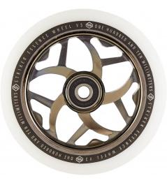 Wheel Striker Essence V3 White 110mm Metallic Black