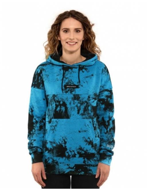 Horsefeathers Skye sweatshirt blue tie dye 2021 women's vell.S