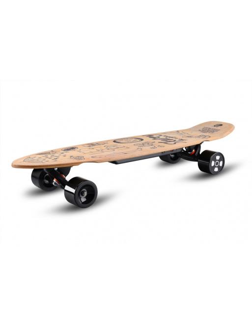 Skatey 350L wood longboard wood art