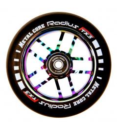 Wheel Metal Core Radius 110mm Wheel Rainbow