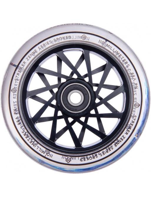 Wheel On A Scooter Striker Zenue Series Clear 110mm Black