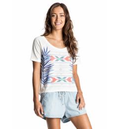 Roxy Fashion Friend T-Shirt Palm Fever 862 wbt0 marshmellow 2017 Ladies vell.M