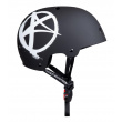 Helmet Addict Logo black Junior