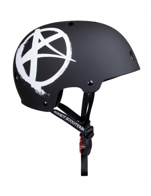 Helmet Addict Logo black Junior