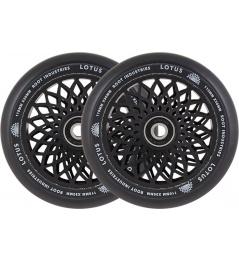 Wheels Root Industries Lotus 110x30mm black 2pcs
