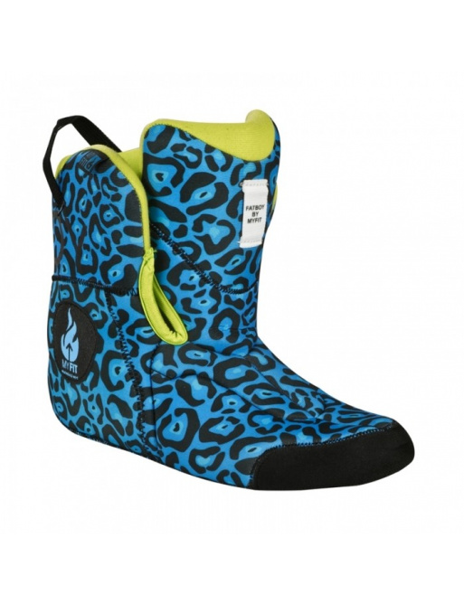 Powerslide boot MY FIT Fat Boy Medium Liner Blue Leo
