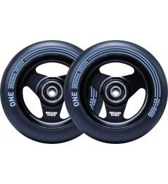 Wheels Tilt Stage I 110mm Black 2pcs