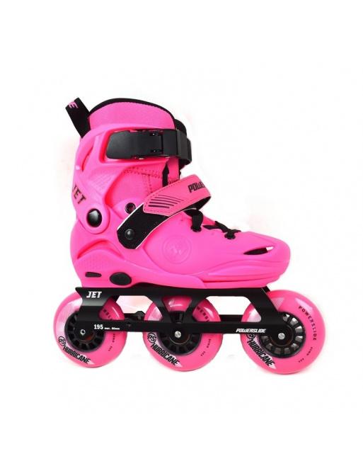 Children's roller skates Powerslide Jet Neon Pink