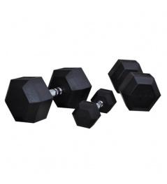 Hexagoniální jednoručka BAUER FITNESS AC-1706 15 kg