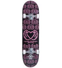 "Skateboard Heart Supply Bam 8 ""United Black Purple"