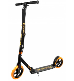 Funscoo 200 mm folding scooter orange