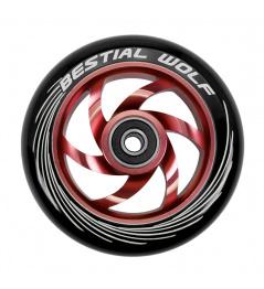 Bestial Wolf Twister wheel 110mm red