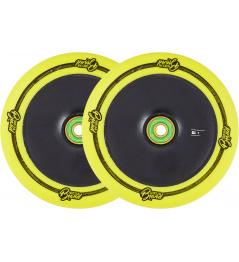 Wheels UrbanArtt Original 120mm Yellow / Black 2pcs