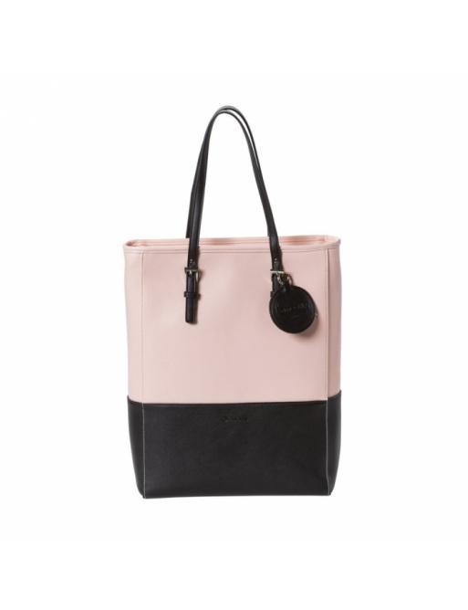 Handbag Meatfly Slima C powder pink / black 2018/19 dámská