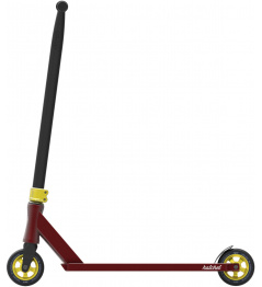 Freestyle scooter North Hatchet 2020 Wine Red & Gold