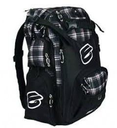 Elyts Plaid gray backpack