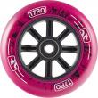 Wheel Longway Tyro Nylon Core 100mm pink