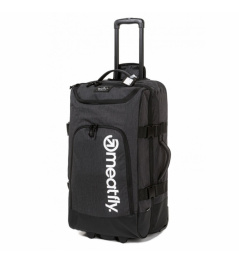 Meatfly Contin 3 Suitcase, 100L - Heather Charcoal, Black 2020