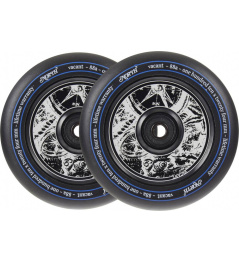 North Vacant V2 Pro Scooter Wheels 2-Pack (Black)