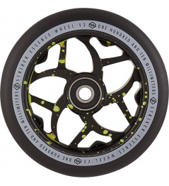 Wheel Striker Essence V3 Black 110mm Green Splash