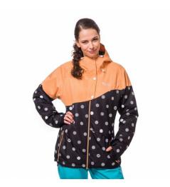 Horsefeathers Coralie Jacket black dots 2016/17 vell.XS