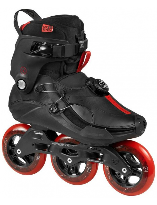 Powerslide Vi Jasper Red 110 Trinity in-line skates
