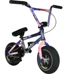 Wildcat Space Original 2C Mini BMX Wheel (Purple | with brake)