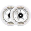 Proto Gripper wheels 110mm silver 2pcs