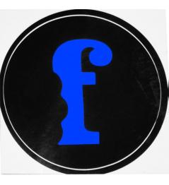 Sticker Flavor F Blue