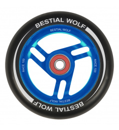 Bestial Wolf Race 100 mm wheel black-blue