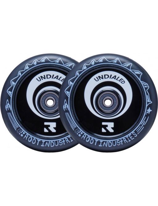 Root Air Undialed Scooter Wheels 2-Set (110mm | Black)