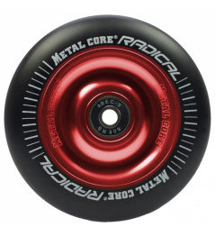 Metal Core Radical 110 mm wheel black-red