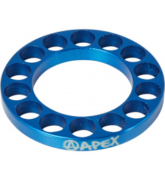 Headset spacer Apex 5mm blue