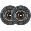 North Vacant 110mm chrome wheels 2pcs